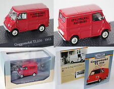 Atlas Edition 7421104 GOGGOMOBIL Kleintransporter TL 250 Modell 1963 1:43 PC-Box