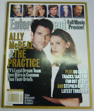 Entertainment Weekly Magazine Ally McBeal & The Practice September 1998 021413R2