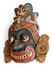 Finely Carved Antique vintage Wooden Ceylon Devil Mask Highest-Quality > sab0045