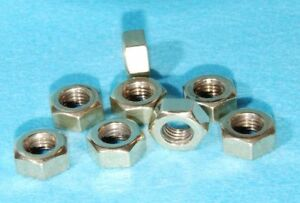 5/16 BSF Brass Exhaust Manifold Nuts pack of 8 BMC Car Vintage Bike