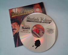 CD Sherlock Holmes Consulting Detective MS-DOS - ICOM Software Inc - Vol1 Ver 3