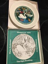 "Westwood 1974 ""The Ugly Duckling�& Two ""The Sandman� 1975 Collector Plates"
