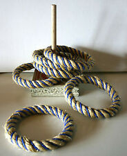 *NEW* Riversdale Garden Junior Quoits Rope Ring Toss Game - Australian Made