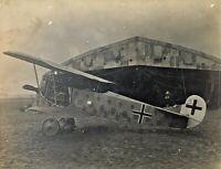 ORIGINAL - WW1 GERMAN FOKKER D. VIII  ( F 7788 ) FIGHTER PLANE PHOTOGRAPH