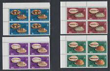 Tuvalu Islands 1980 Mint MNH Full Set optd SPECIMEN Cowry Shells corner blocks 4