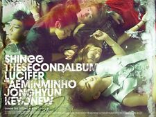 SHINEE 2ND ALBUM  TYPE A [ LUCIFER ]  NEW SEALED