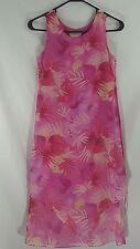 LA Conduct Children's Dress Pink Floral Size 10 Girls L.A Sundress