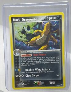 Dark Dragonite - EX Team Rocket Returns 15/109 Rare holo swirl played