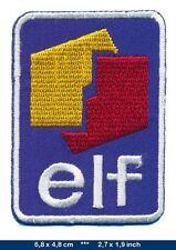 ELF Aufnäher Aufbügler Patch Auto Racing Team Frankreich France EL5 TURBOVERSAND
