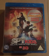 Spy Kids All the Time in the World 3D  (New)(UK Blu Ray) Free Postage