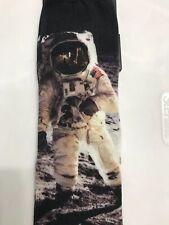 NASA Astronaut Moon Walk Men's Dress Socks 7-12