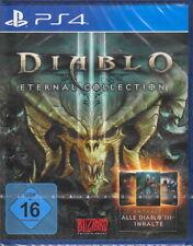 Diablo III: Eternal Collection-ps4 PlayStation 4-nuevo con embalaje original-versión en alemán