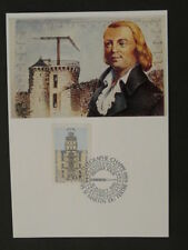 telecommunications telegraphy telegraph Chappe postal history maximum card 41092