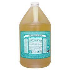 Dr. Bronners Magic Soaps - Castille Soap Baby Mild Unscented, 1 Gallon
