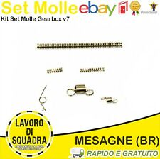 KIT SET MOLLE INTERNE GEAR BOX ricambio v7 RICAMBI SOFTAIR AIRSOFT NUPROL M14