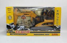TOP RACE Toy Radio Control Metal Shovel Construction RC Excavating Digger NEW