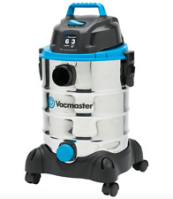 6-gal. Vac-Master Stainless Steel Wet/Dry Vac w Blower Function Accessories Inc