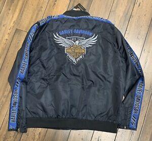 Harley Davidson 115th Anniversary Men's Water Resistant jacket Size XLarge