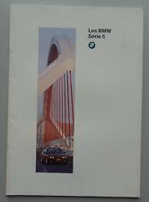 V24452 BMW SERIE 5 - CATALOGUE - 01/94 - A4 - FR