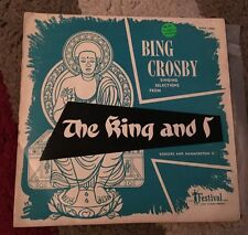 Bing Crosby - Singing Selections From The King And I 7' Vinyl EP Record