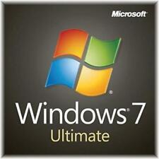 🔥 WIN 7 Windows 7 Ultimate 32 64 Bit Original Genuine License Key Product KEY