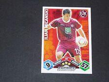 MICANSKI 1.FCK KAISERSLAUTERN TOPPS ATTAX PANINI FOOTBALL BUNDESLIGA 2010-2011