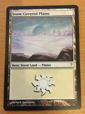 MTG 1x Snow-Covered Plains Land Coldsnap Set Magic the Gathering Card