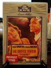 "Pre-owned ~ Je Dois Tuer ""Suddenly!"" Frank Sinatra, (DVD, Import)"