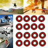 UGIN Useful 8 Pcs of Skateboard Longboard Bearings .ABEC 9 Stainless Red-Outdoor