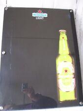 Heineken Light Beer Lighted Dry Erase Chalk Board Menu Bar Pub Sign