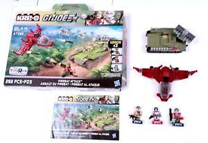 Hasbro 2013 KREO GI Joe Firebat Attack set 100% complete Recondo Bazooka