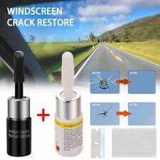 2x Automotive Glass Nano Repair Fluid Car Window Glass Crack Chip Repair Tool