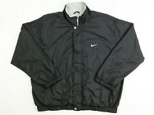 Mens Nike Vintage Windbreaker XXL Black Grey Great Overall Condition 90's-2000's