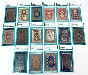 """Doll House Rug 4"""" x 6"""" MANY COLORS Persian Oriental Turkish Rugs Carpet for Doll"""