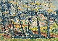 Hans Nyga, Gouache, POP ART BRITISH STYLE,  F. Bacon, Hockney