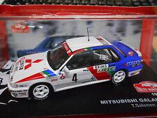 MITSUBISHI Galant VR-4 Rallye Monte Carlo 1991 #4 Salonen SP IXO Altaya 1:43