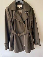 Michael Kors Khaki Raincoat, Jacket, Coat Size Large UK 14 *FREE P&P*