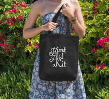 FIRST AID KIT band Canvas Tote Bag FREE Delivery 100% Cotton