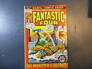 FANTASTIC FOUR 125 VFN Marvel Comics 1972