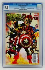 Marvel Zombies 2 #1 CGC 9.8 White Pages Civil War #1 Variant Cover Swipe NM/MT