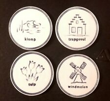 Delft Blue Geocoin - 4 coin set