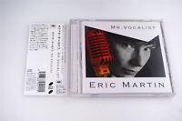 ERIC MARTIN MR.VOCALIST SICP 2091  CD JAPAN OBI A4473