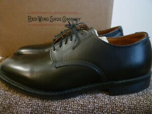 RED WING Williston Oxford Black Men's 11D Made In USA $400 New In Box FREE SHIP