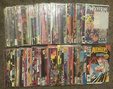 100 comic book lot: Spider-man, Wolverine, Avengers, Daredevil, lots more!
