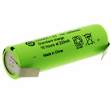 Battery Replacement AA 1.2V NiMh toothbrush Braun OralB Triumph Philips Sonicar