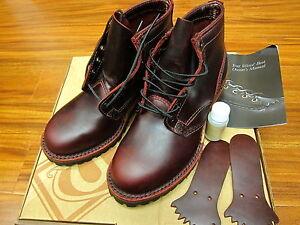 Wesco Boots Custom Jobmaster 6'' Made in USA Burgundy