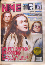 NME 5 May 1990 Wonder Stuff Lou Reed Madonna Lisa Stansfield Keith Allen
