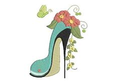 Posh Chaussures 20 Machine Embroidery Designs
