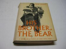 His Brother, the Bear by Jack Ansell SOUTHERN JEW NOVEL great read
