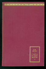 BOTLEY C. M. L'ARIA E I SUOI MISTERI MONDADORI 1942 CULTURA D'OGGI FISICA